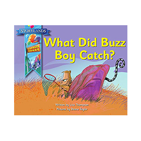 Cover of What Did Buzz Boy Catch?