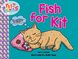 Fish for Kit decodable book
