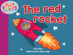 The red rocket decodable book