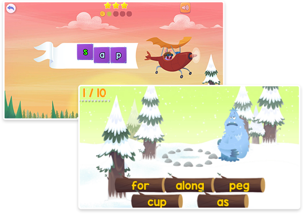 Fast Phonics animated games