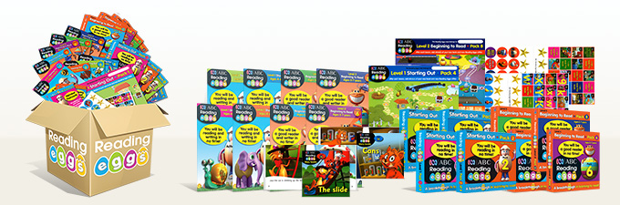 Learn to Read Reading Eggs Mega Book Pack
